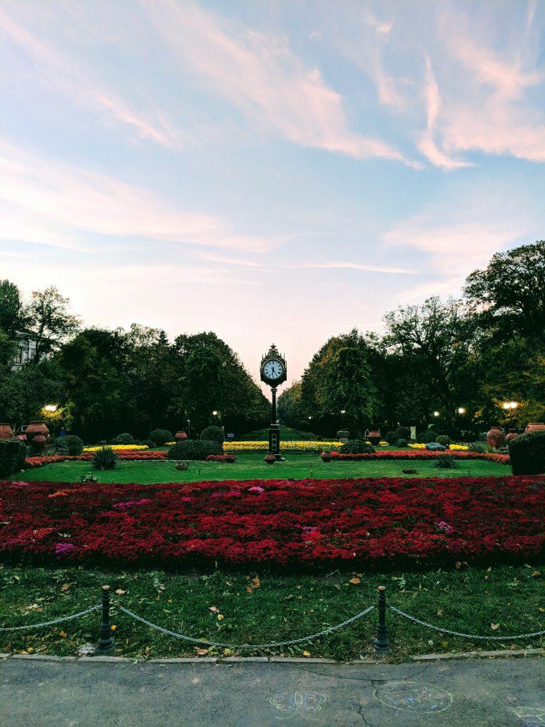 Ceasul din Parcul Cismigiu